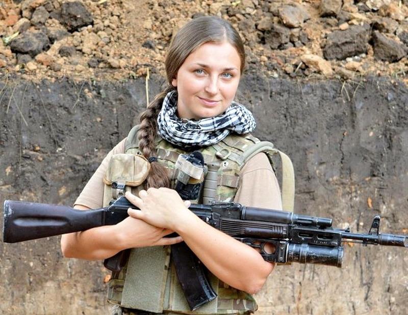 Алла Федорченко - доброволиця батальйону «Січ»