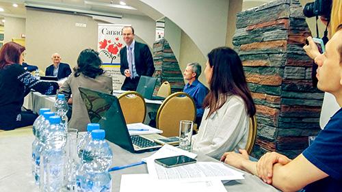 23 травня у Києві відбулась партнерська конференція Канада-ЕФД