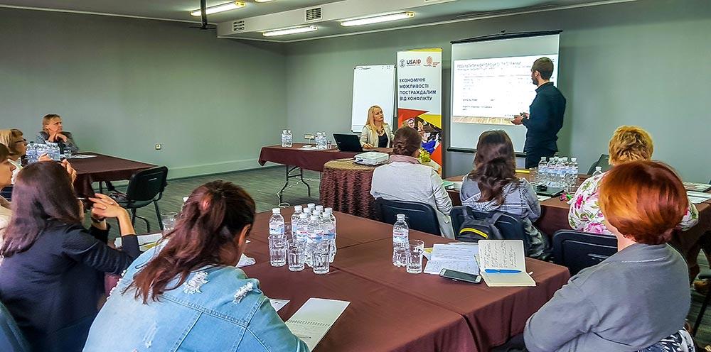 Координаційна зустріч у рамках Проекту USAID