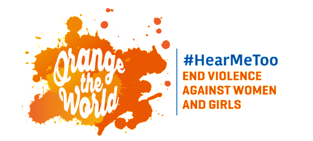 Orange the world HearMeToo