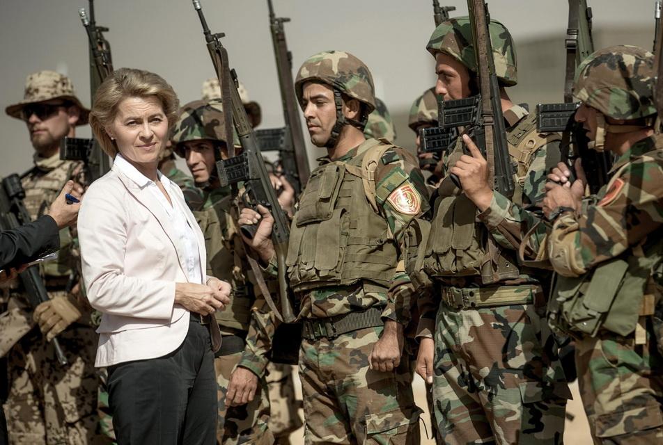 Міністерка оборони Німеччини заявила про намір створити мережу жінок-миротвориць ООН