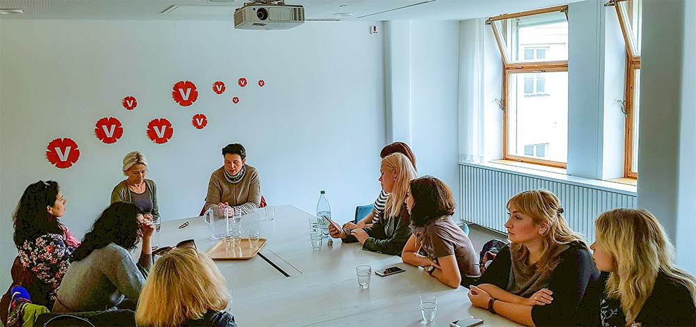 Навчальний візит у Швеції