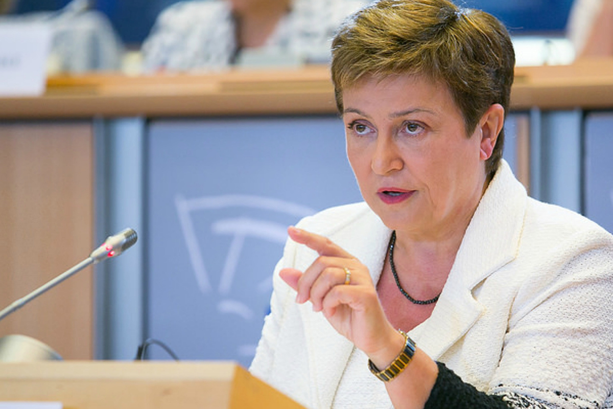 У планах діяльності Крісталіни Георгієвої, директорки Міжнародного валютного фонду (МВФ) питання гендерної рівності стають пріоритетними.
