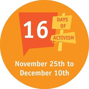 16 days of activism against gender-based violence 2020
