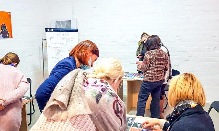 Закінчилась Навчальна програма для ведучих екскурсій Музеєм жіночої та гендерної історії