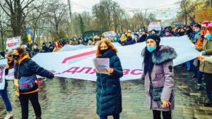 Україні на підтримку жінок традиційно пройшли марші жіночої солідарності